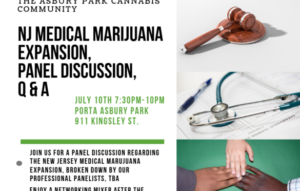 7/10 EVENT: JERSEY CANNABIS NETWORK, MEDICAL EXPANSION DISCUSSION / MIXER